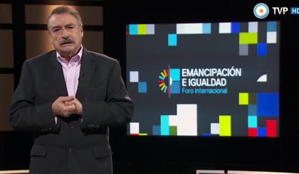 """Primer especial sobre el Foro """"Emancipación e Igualdad"""""""